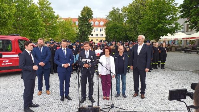 Wizyta Zbigniewa Ziobro w Jaśle