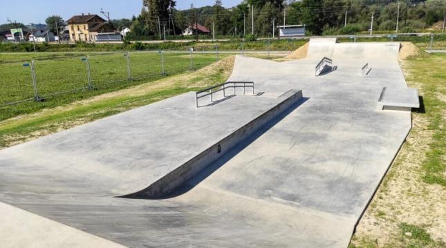 Odbiór skateparku na terenie kompleksu sportowo – rekreacyjnego